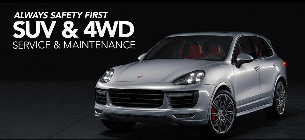 Suv and 4wd Porsche Services
